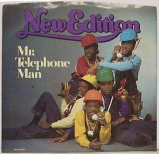 Mr. Telephone Man 1984 single by New Edition