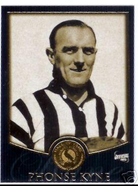 Australian rules footballer Phonse Kyne (b.1915)