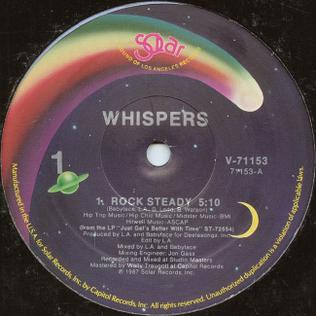 Rock Steady The Whispers Song Wikipedia