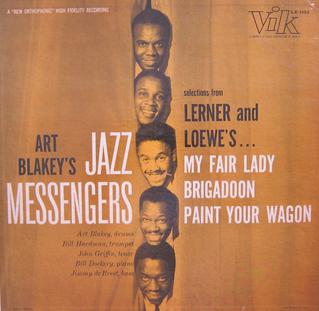<i>Selections from Lerner and Loewes...</i> 1957 studio album by Art Blakey and The Jazz Messengers