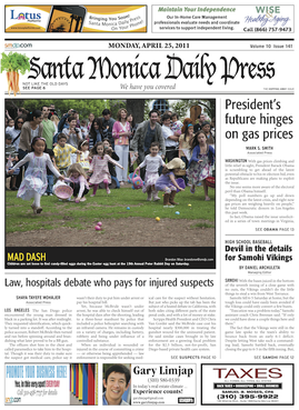 Santa Monica Daily Press Wikipedia