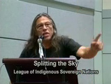 Splitting the Sky speaking at a conference kno...