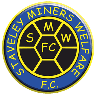 Staveley Miners Welfare F.C. logo.png