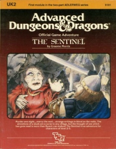 Cover of UK2 The Sentinel
