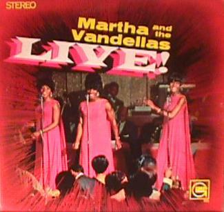 Martha and the Vandellas album covers