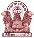 Image result for Vikram University logo