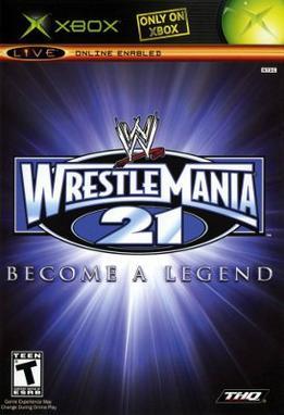Resultado de imagen para wwe wrestlemania 21 xbox