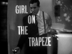 Girl on the Trapeze 6th episode of the first season of The Avengers