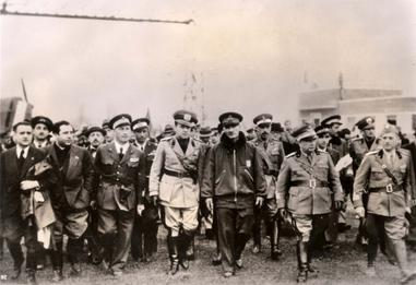 Ciano arriving in Albania in April 1939. Ciano arriving in Albania on April 1939.jpg