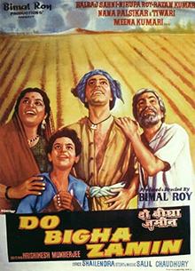 <i>Do Bigha Zamin</i> 1953 film directed by Bimal Roy