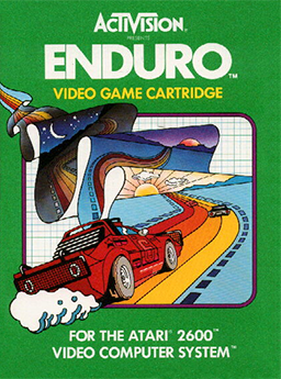 Enduro Coverart The Top 5 Atari 2600 Games