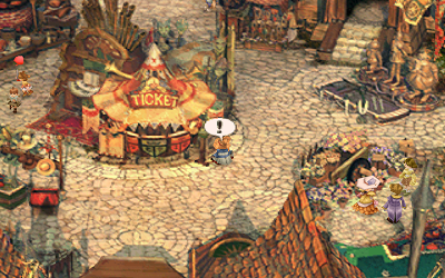 The field icon indicates an object can be inspected, as is the case with this ticket booth. Ff9 screenshot fieldicon1.png