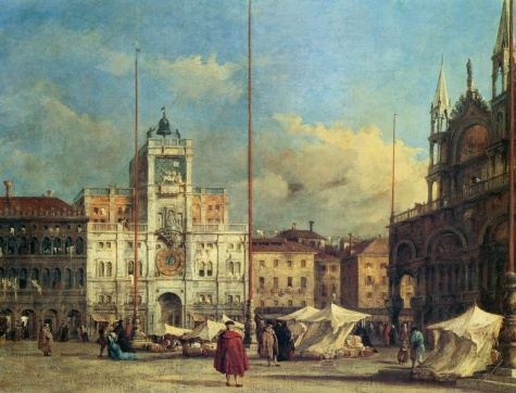 Piazza San Marco Venice - Francesco Guardi