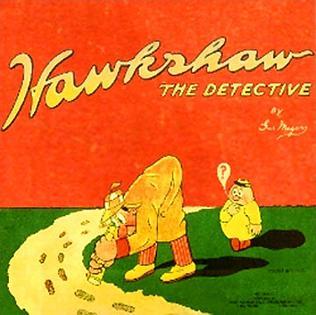 <i>Hawkshaw the Detective</i> Comic strip character