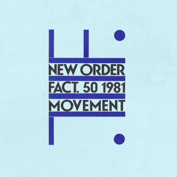 New Order - Movement album cover
