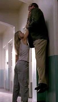 Jessica (Niki) easily lifts Bob Bishop in &quo...