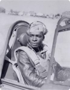 Paul Adams (pilot) [[Tuskegee Airmen]]