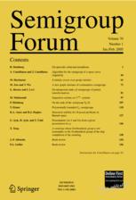 <i>Semigroup Forum</i> journal