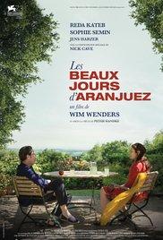 <i>The Beautiful Days of Aranjuez</i> 2016 film