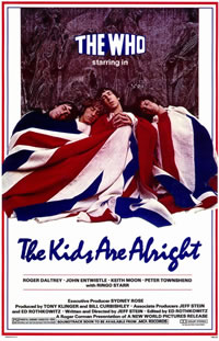 <i>The Kids Are Alright</i> (film) 1979 rockumentary