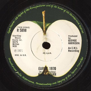 Early 1970 1971 single by Ringo Starr