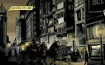 Batman gotham city wall decal