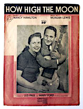 file how high the moon les paul mary ford chappell 1951. Black Bedroom Furniture Sets. Home Design Ideas