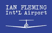 Ian Fleming International Airport Logo