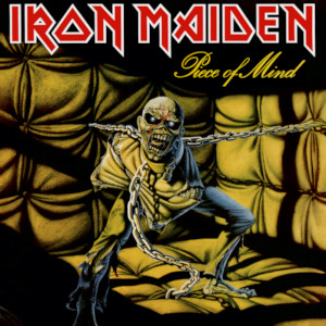 <i>Piece of Mind</i> 1983 studio album by Iron Maiden