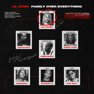 <i>Family over Everything</i> 2019 mixtape by Only The Family & Lil Durk