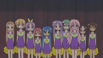 Cosplay Lucky Star pour je sais pas quand Lucky_Star_main_cast