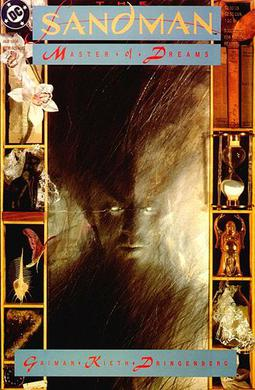 The front cover of sandman the book