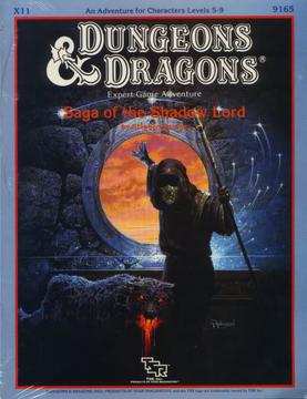 Cover of X11 Saga of the Shadow Lord