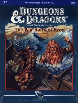 Cover of X7 The War Rafts of Kron