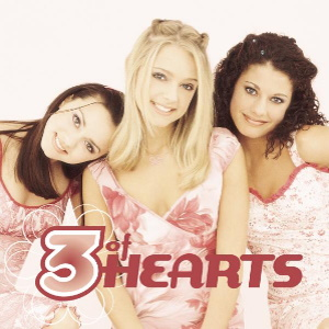 The cover image features three young women wearing light pink clothing with the album's title in pink font appearing at bottom.