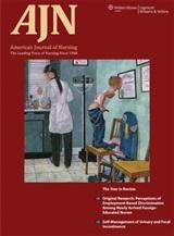<i>American Journal of Nursing</i> journal