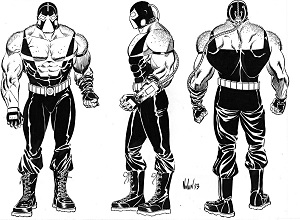 Dark Knight Rises Bane Concept Art