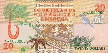 Dollars Cook Islands  Wildlife Er Silber
