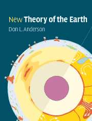 The cover of Anderson's book, New Theory of the Earth illustrates the ongoing debate among geophysicists over whether volcanoes are the natural outcome of plate tectonics or emanate from the deep Earth through narrow plumes.
