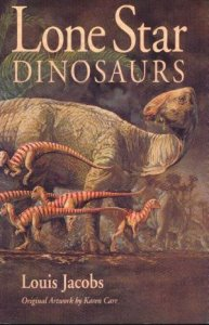 Cover of book Lone Star Dinosaurs by Louis L. Jacobs.jpg