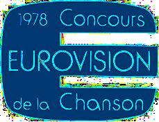 23. Eurovision Şarkı Yarışması - Paris 1978 ESC_1978_logo