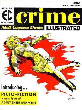 Crime Comics And Books