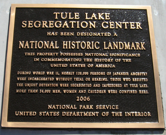 The Tule Lake National Monument
