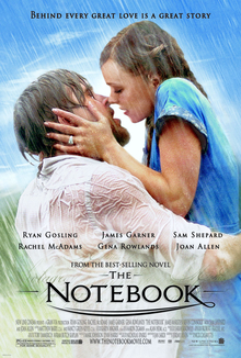 Film poster for The Notebook (film) Note: This...