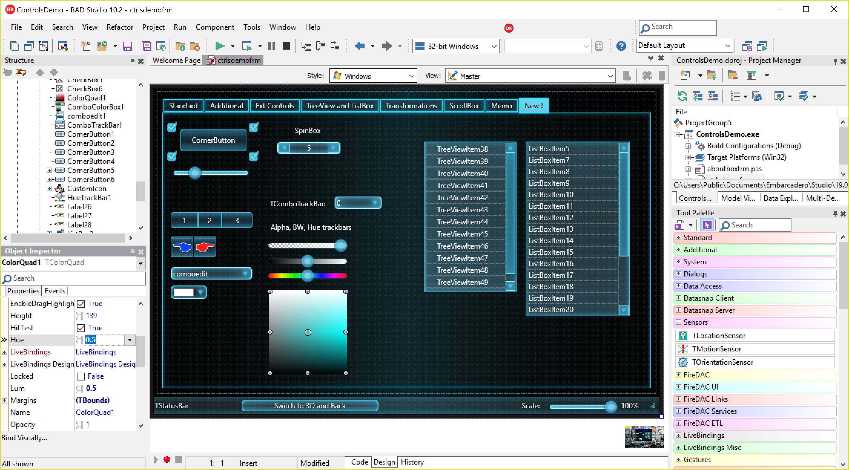 File:RAD Studio FMX IDE Screenshot png - Wikipedia