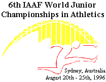 1996 World Junior Championships in Athletics