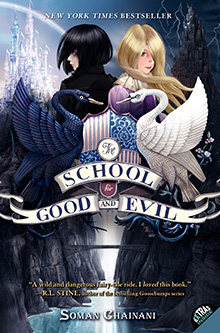 The School for Good and Evil book 1 cover.jpg