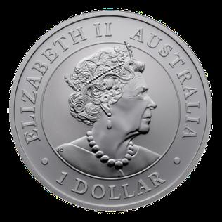 2018 Australia Kookaburra .9999 Silver 1 oz Coin $1 ounce Bullion BU in capsule