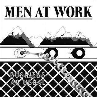 <i>Business as Usual</i> (Men at Work album) 1981 studio album by Men at Work