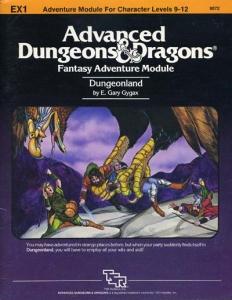 <i>Dungeonland</i> Dungeons & Dragons (EX1) module